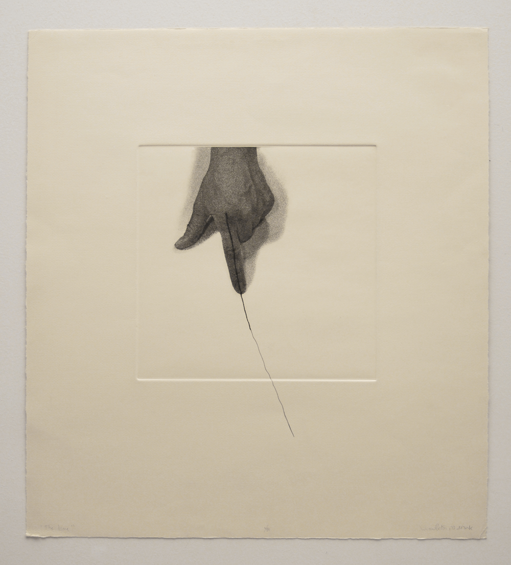 The Line (detail) , 1973, Liliana Porter (Argentina)