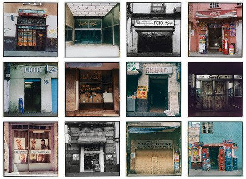 Lower East Side storefronts