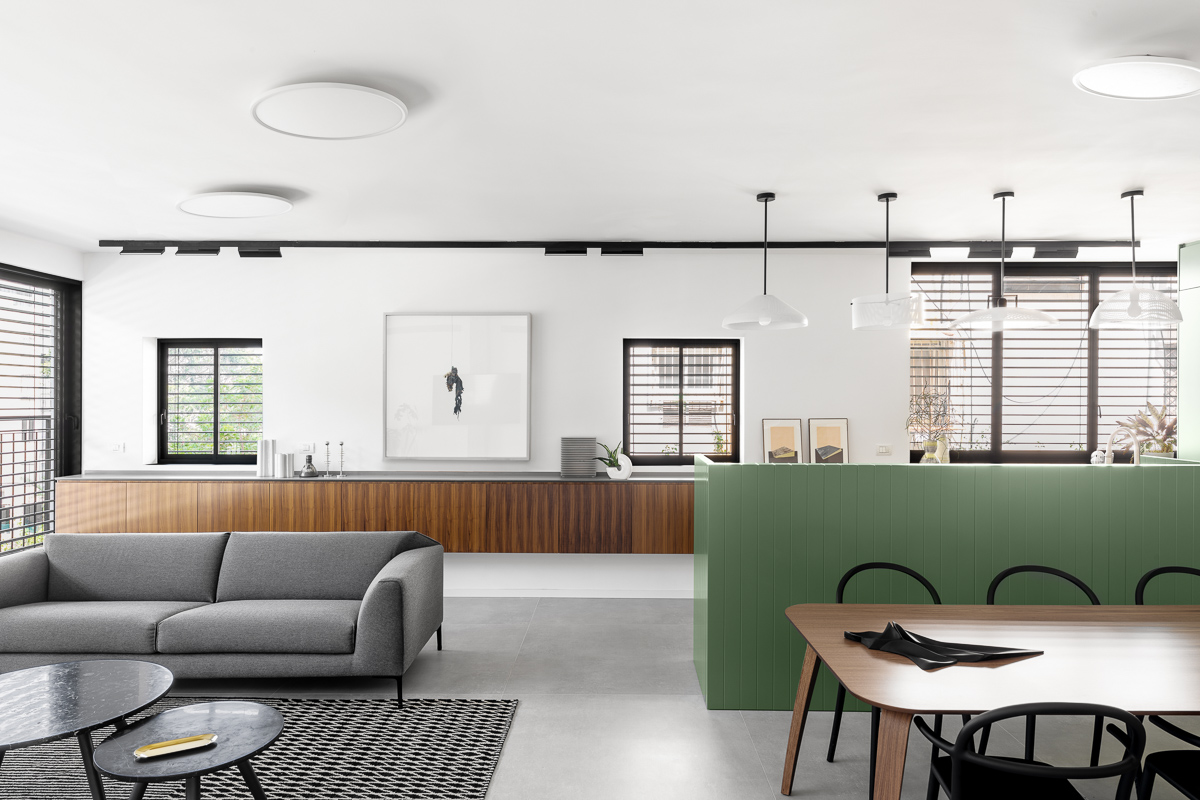 BZ Apartment  Type: Residential  Location: Tel Aviv  Size: 102 sqm