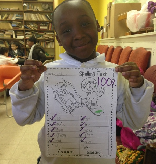 Handwork paid off! So proud of his grade! Tutoring Success Story at Young Excellence Society