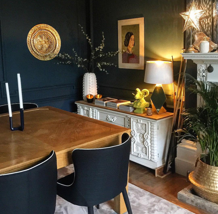 Dining Room of Amy  @thisstyle_rocks .