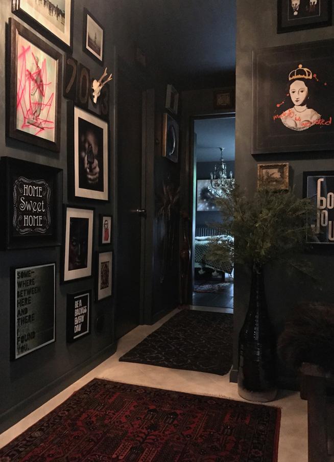 Catherine  @Bo_decor's  hallway. Full House Tour  here .