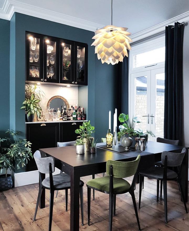 Dining Room from Kristine  @restoringlansdowne.