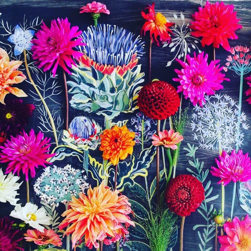Allium Mural