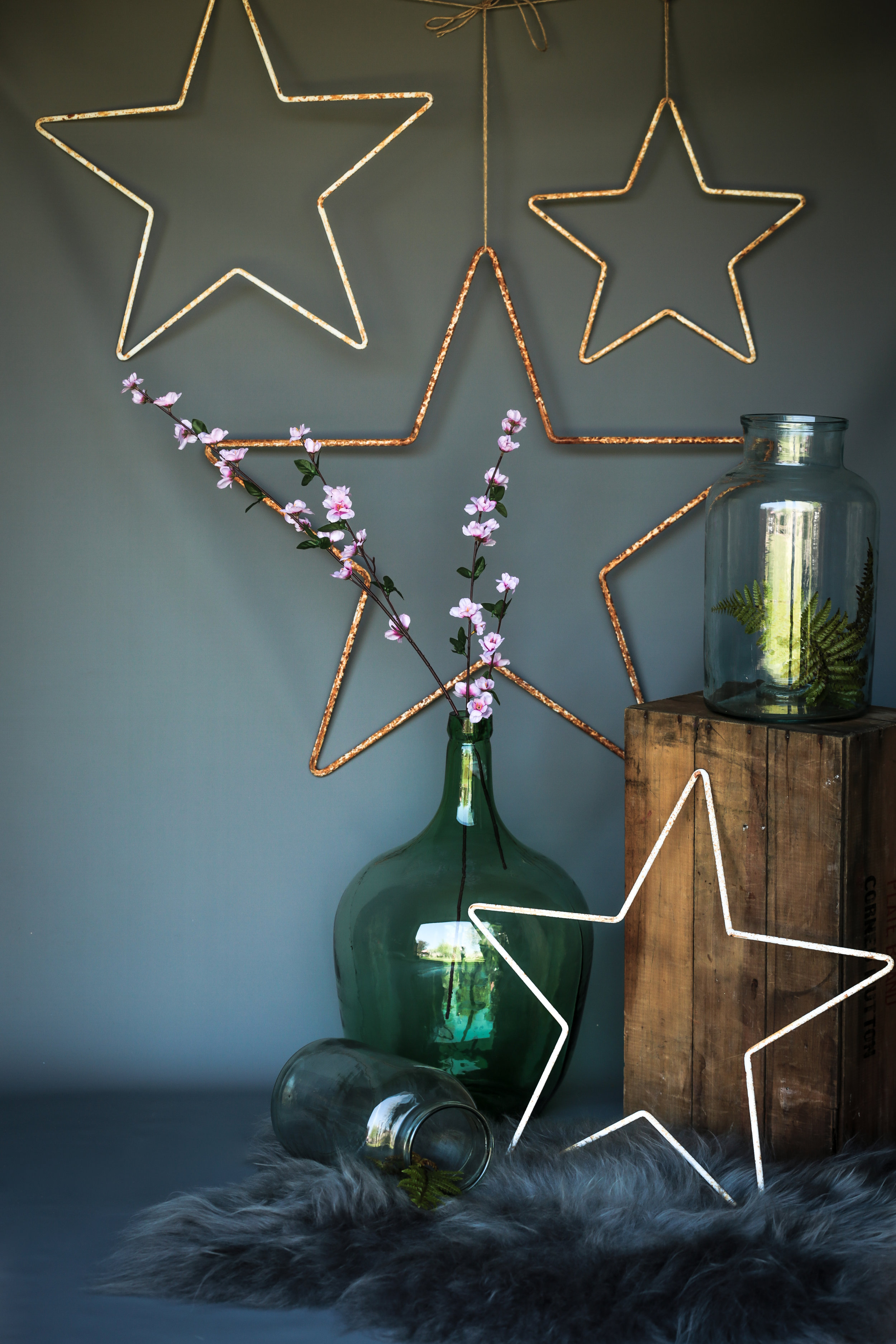 Anna's Attic glass and stars – Available on Anna's website  here  (Credit Clicky McGhee's)