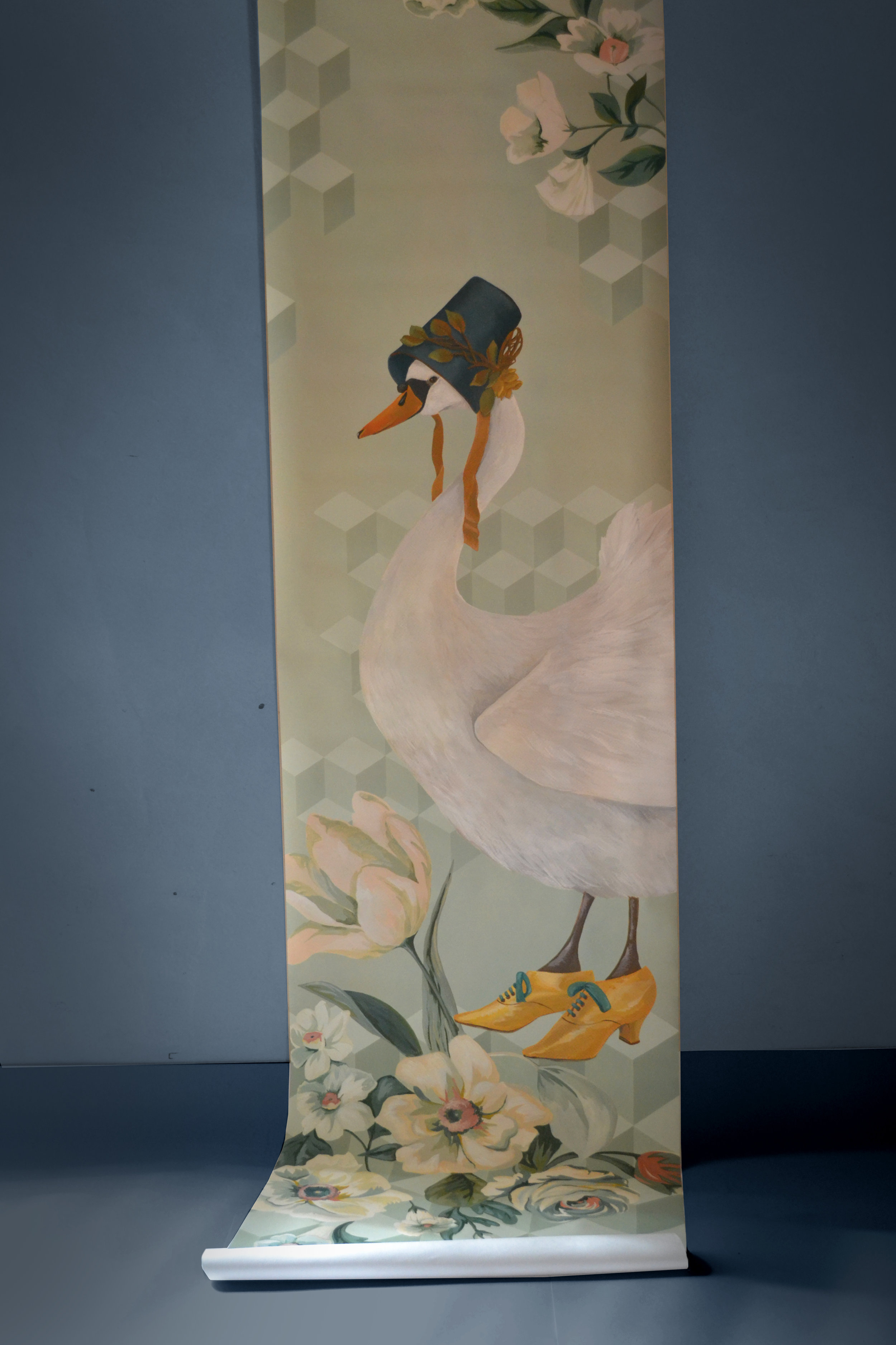 Swan Wall hanging – Exclusively available within the UK at  www.annas-attic.com