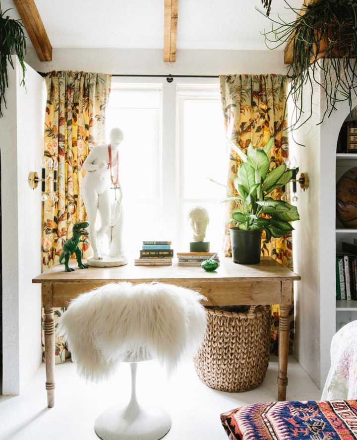 A sunny spot in the master bedroom