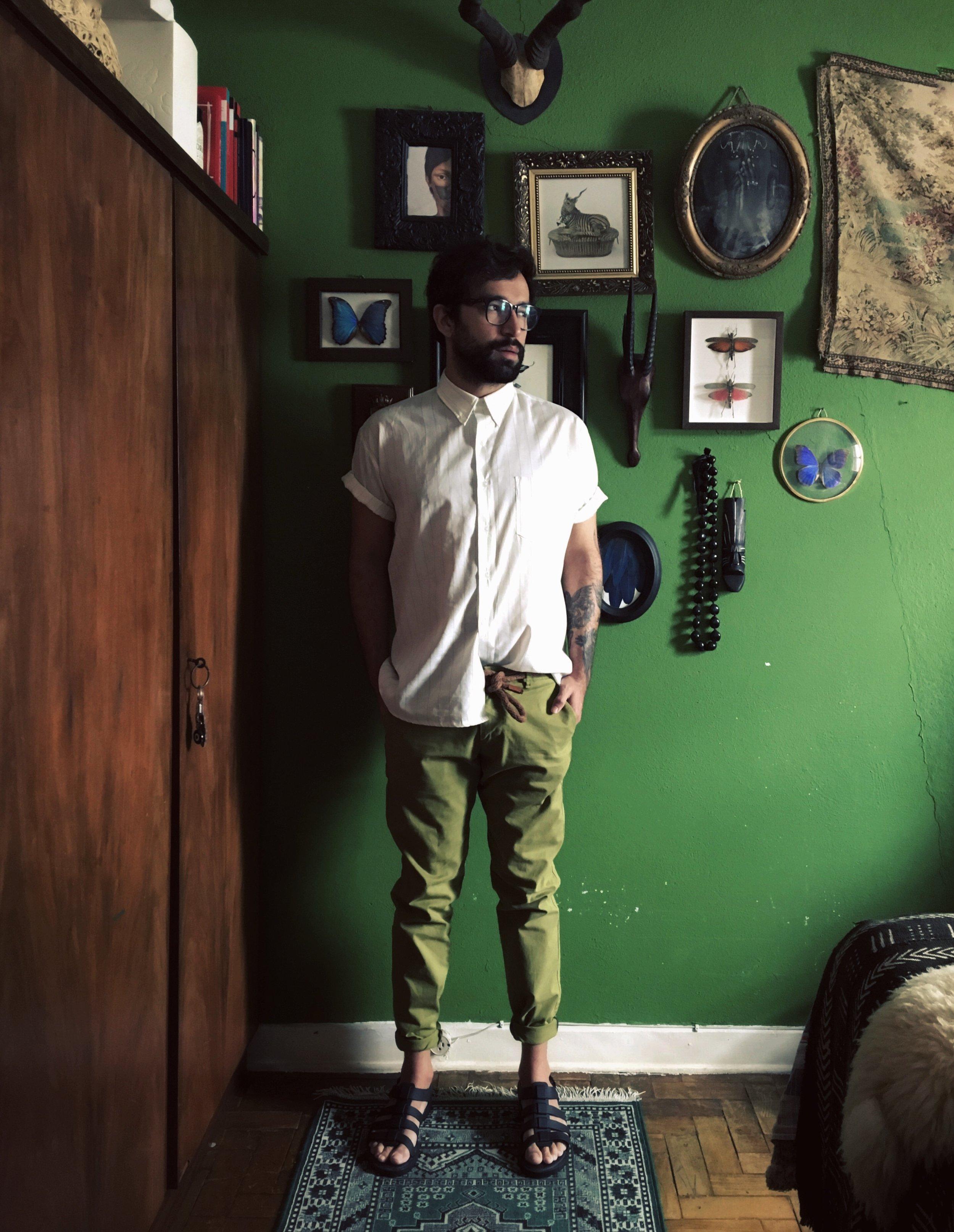 Editor of Casa Vogue Brasil. Michel Lott