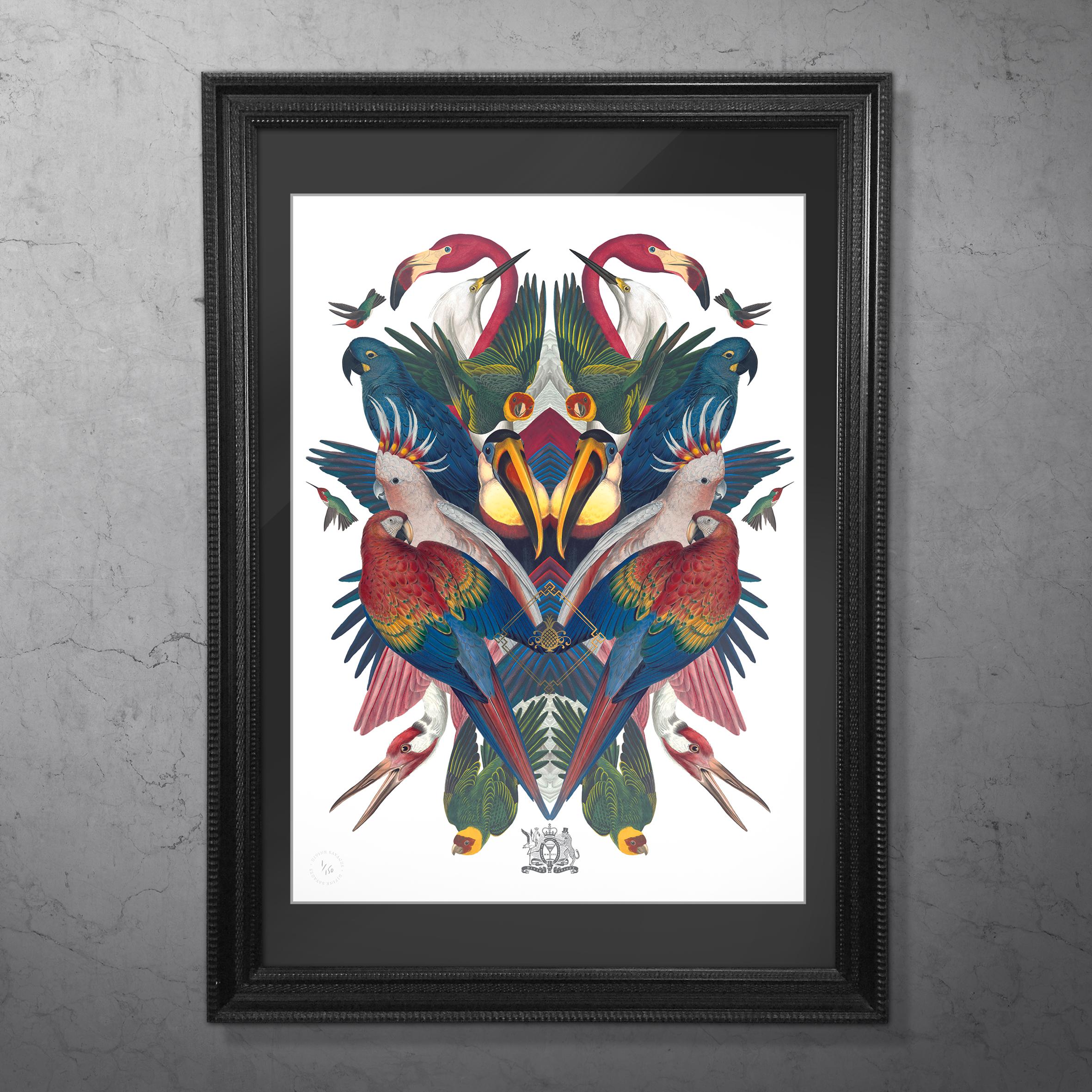 DIVINE BIRDS FRAMED.jpg