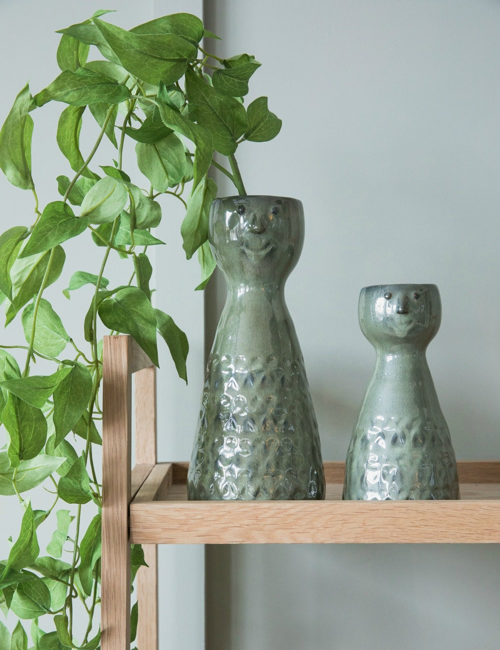 Green Stoneware Vase with Face 3 copy.jpg