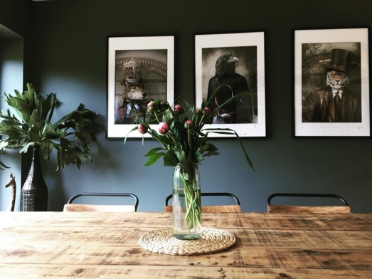 Adrian Higgins's    prints featured in the dazzling home of Tina Archer    (@archer.t.j   ). home tour    here