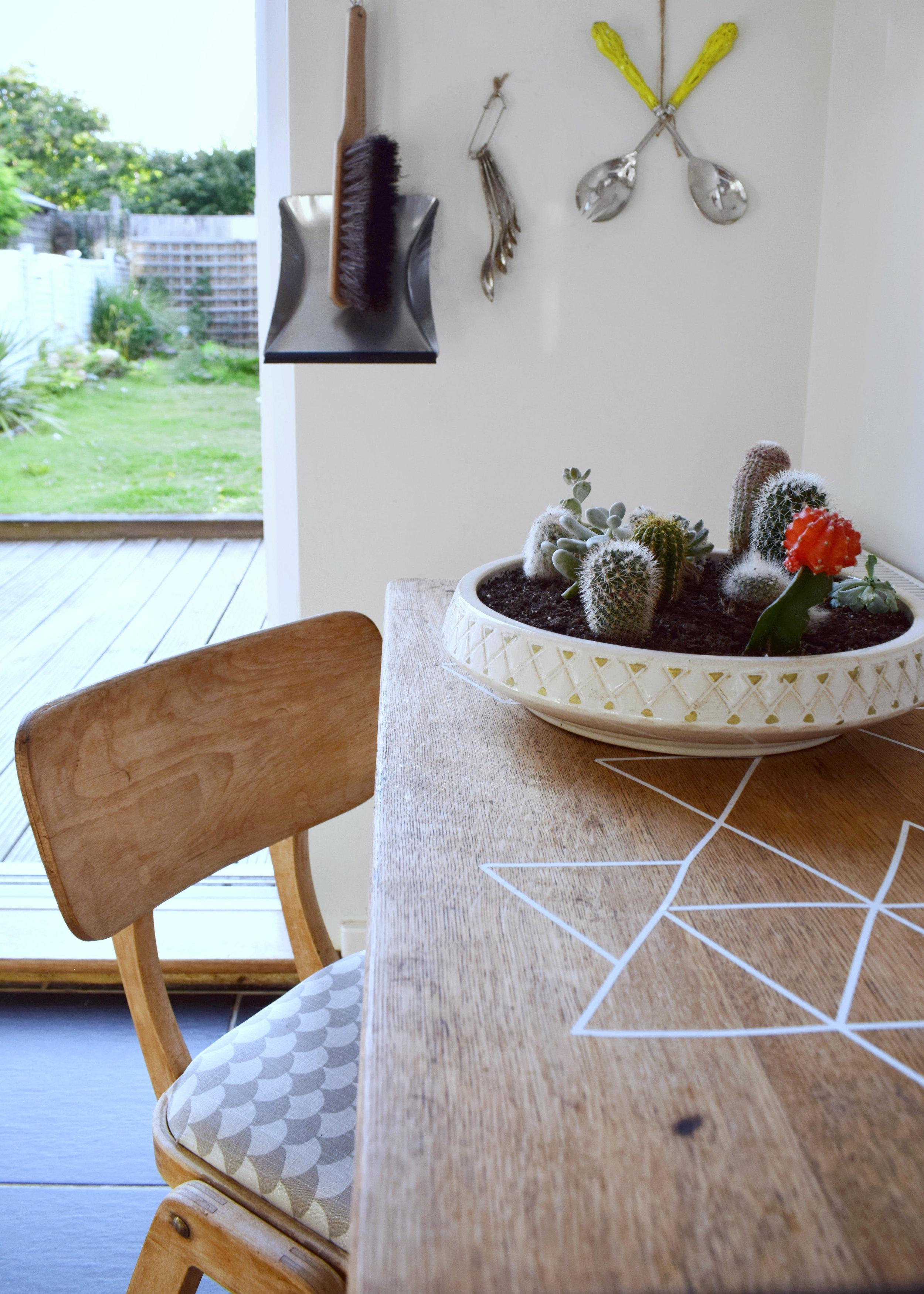 Kitchen Farrow ball slipper satin, vintage Scandinavian rustic budget kitchen refresh, artisan design and styling, monochrome colour base (2) copy.jpg