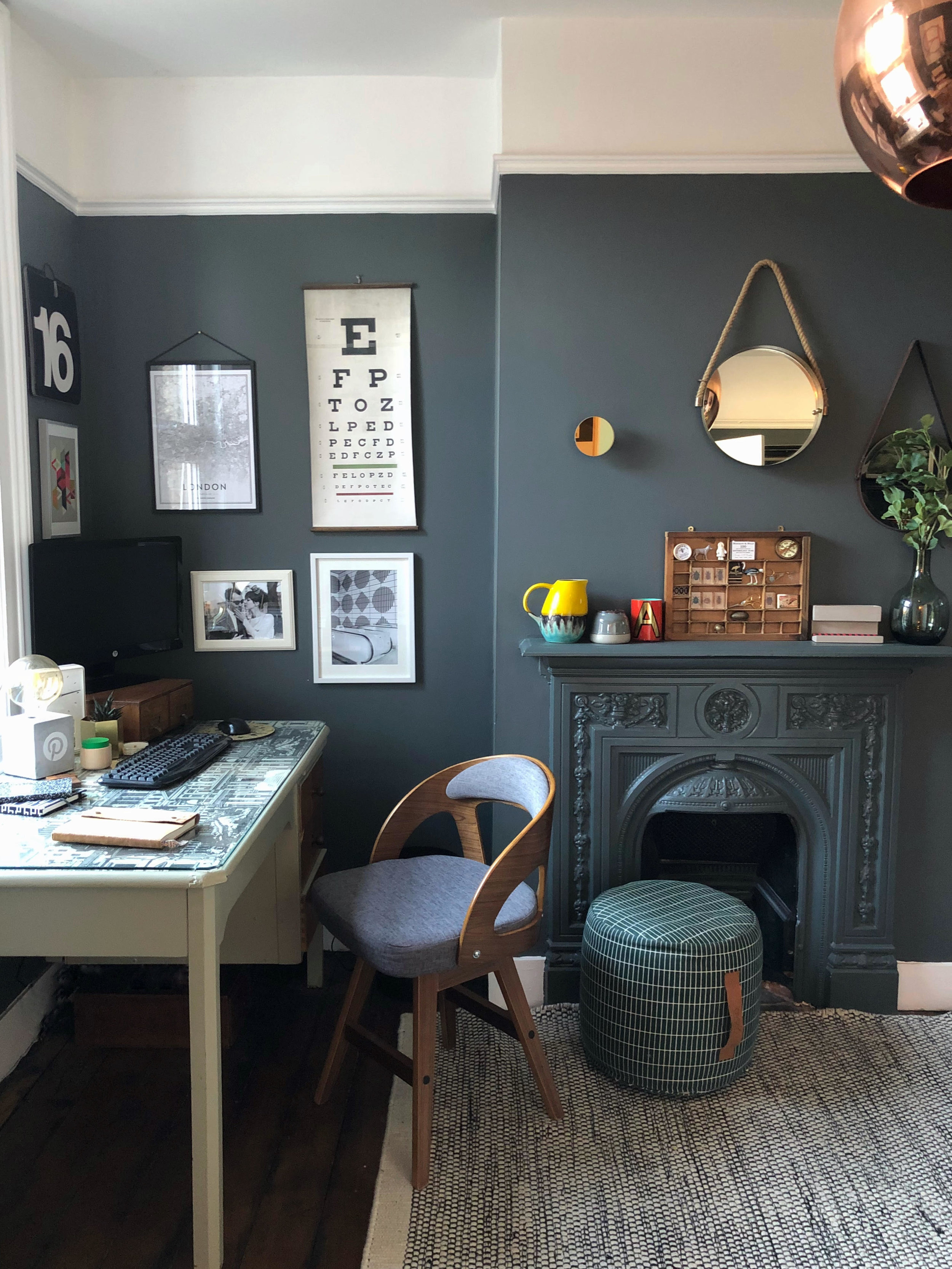 Home office study modernist downpipe farrow ball eclectic vintage mid-century copy.jpg