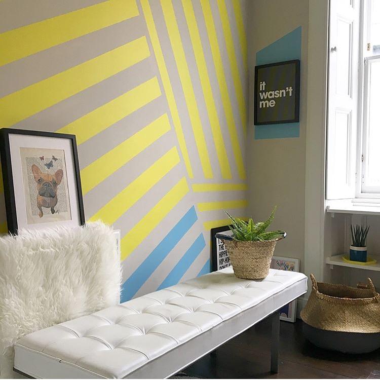 Liznylon_kids_room_yellow_abstract_stripes.JPG