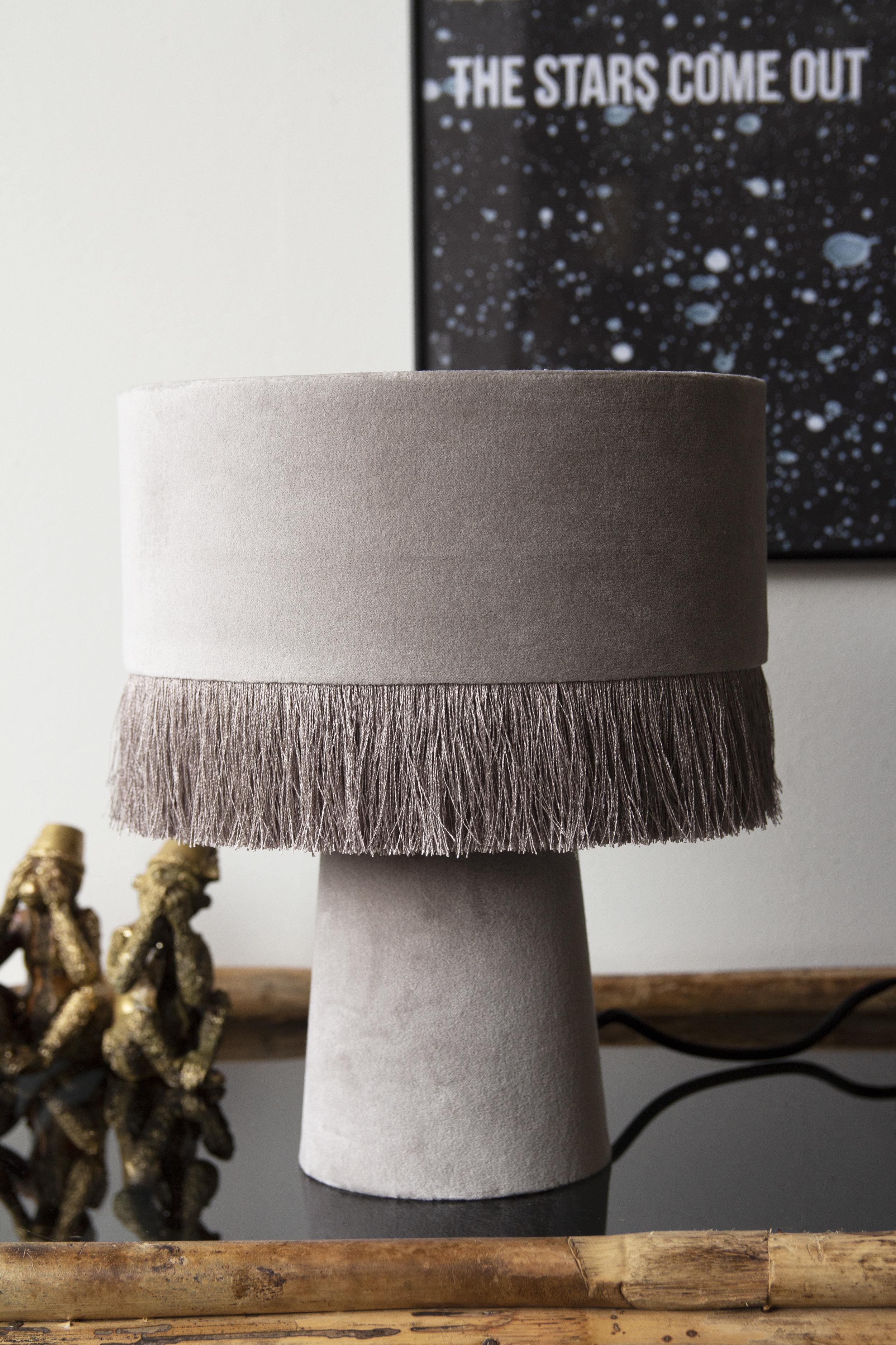 rockettstgeorge_All Over Velvet Table Lamp With Fringe - Ice Grey_lifestyle_highres.jpg