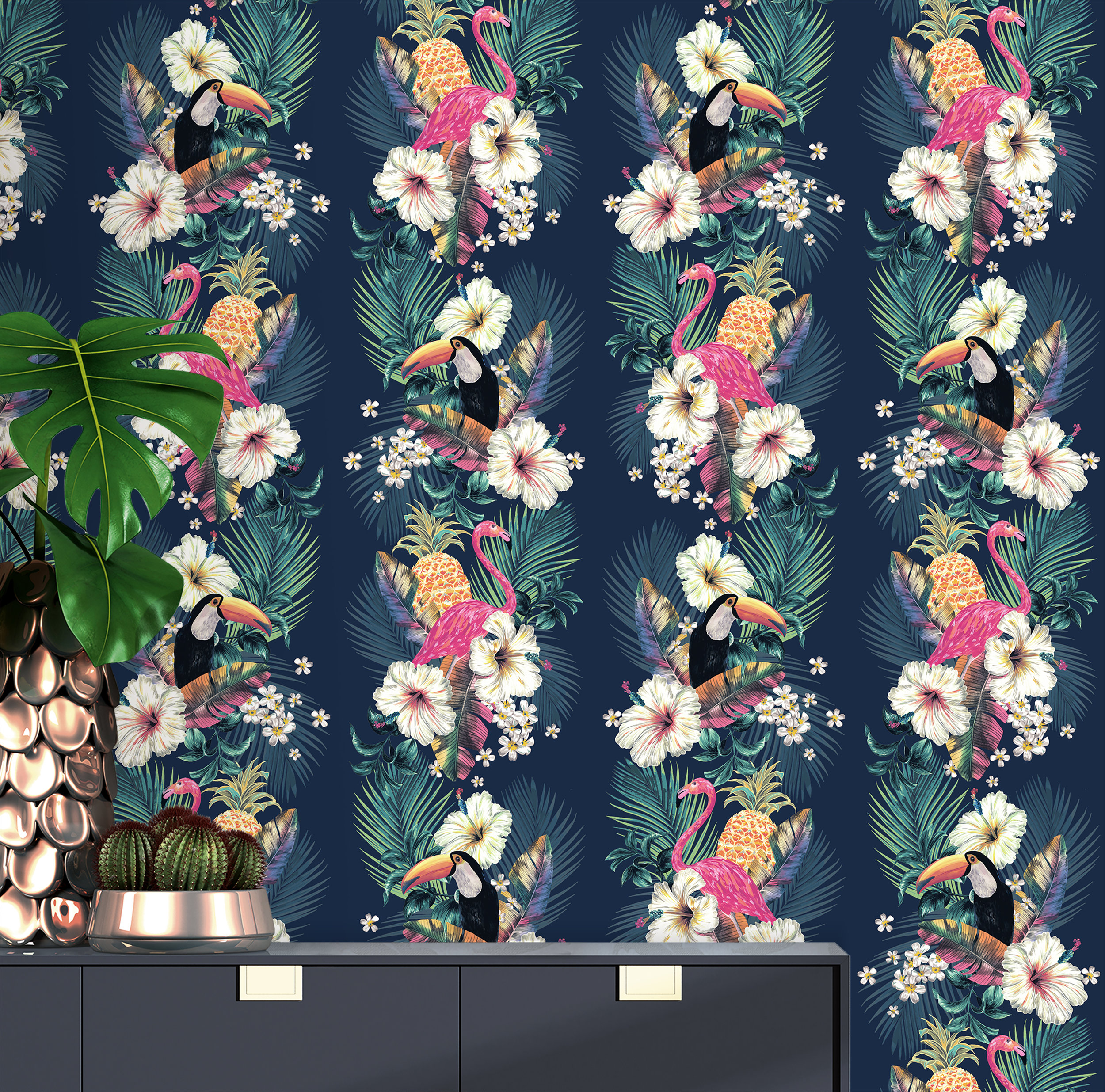 Accessorize Maui Wallpaper - Ink Blue Multi copy.jpg