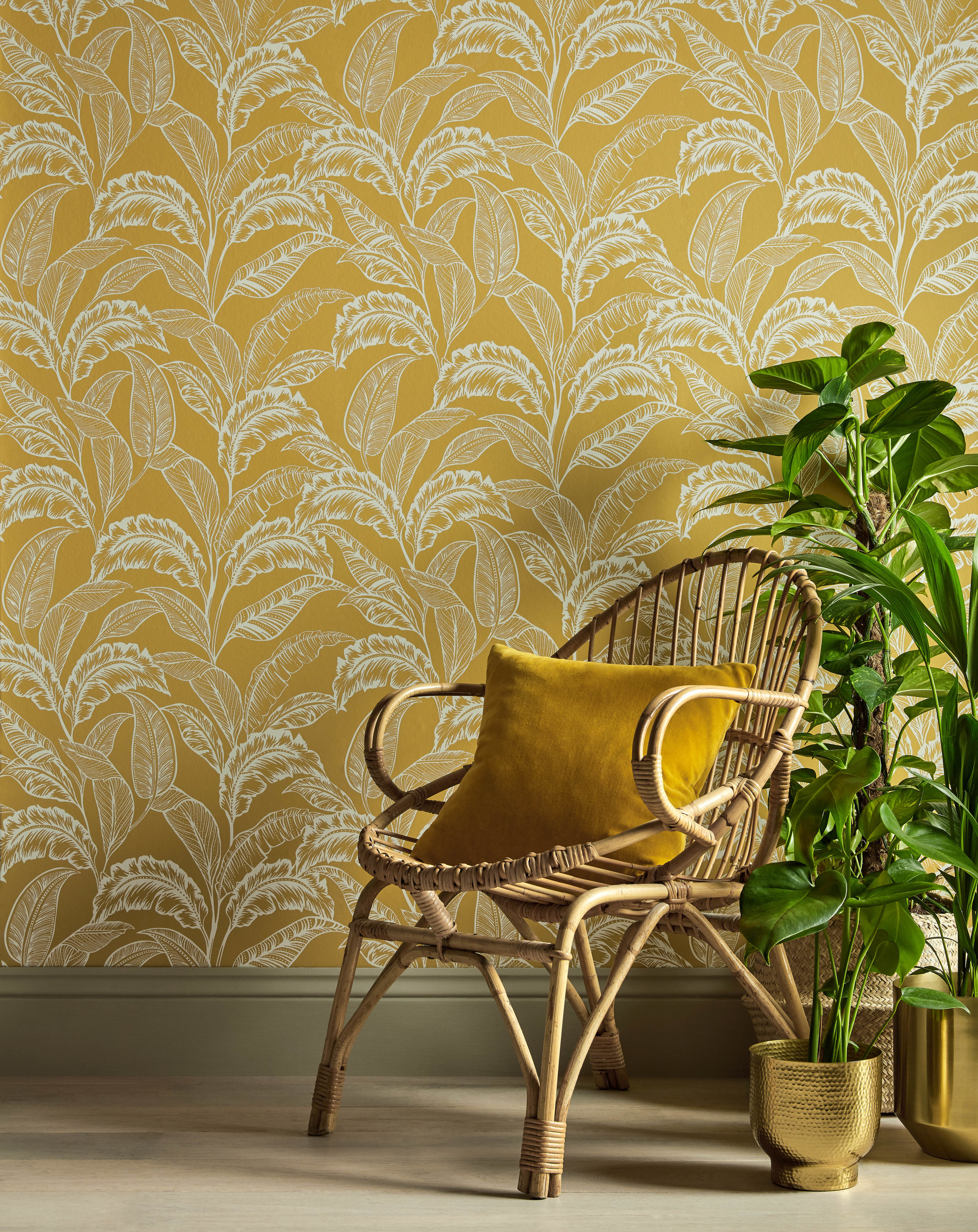 Accessorize Mozambique Wallpaper - Yellow Ochre copy.jpg