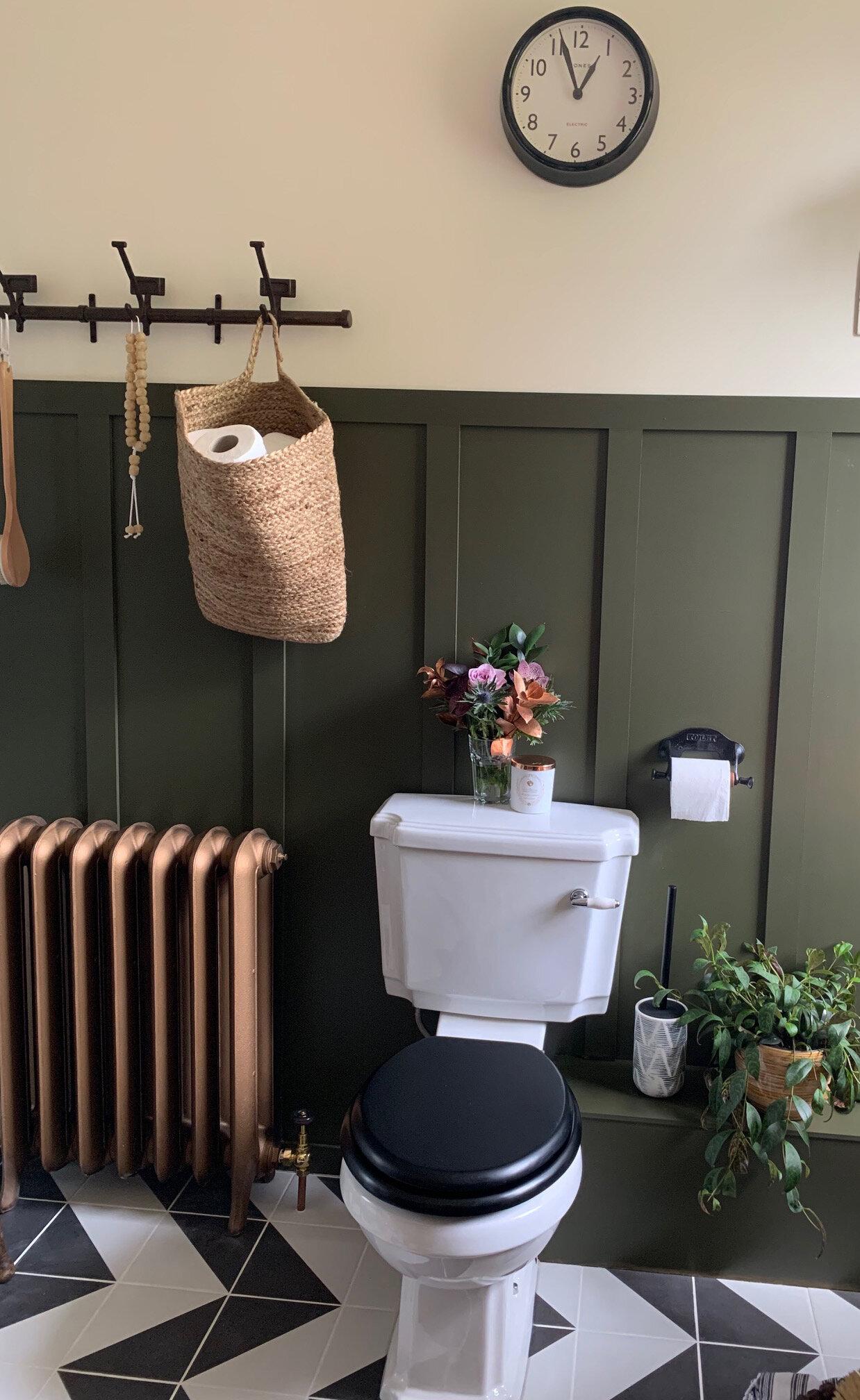 Sainsbury's Home Reactive Glaze Toilet Brush, £12