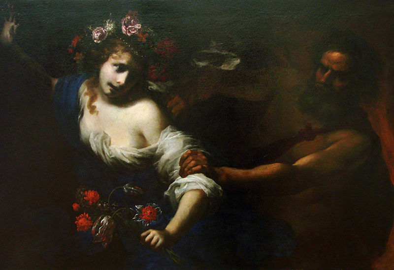 SEVENFOLD: the life of a woman - Simone Pignoni - 1650 L'Enlèvement de Proserpine