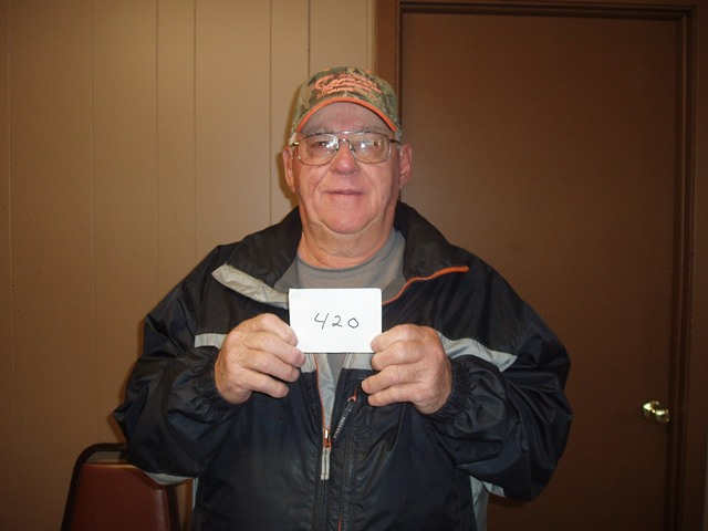 Wilton (Hooch) Schilling of Akaska, SD drew the winning number this Monday morning at the Akaska Bait Shop, Bar & Grill. Hooch drew the number for Alex Braun of Warner, SD. Alex wins a Ruger American Rifle.  CONGRATULATIONS ALEX!!!