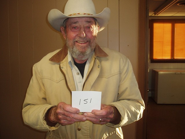 Don Goetz of Akaska, SD drew the winning number this Monday morning at the Akaska Bait Shop, Bar & Grill. Don drew the number for Rick Oxner of Blackhawk, SD. Rick wins a Mossberg MVP Varmint Rifle.  CONGRATULATIONS RICK!
