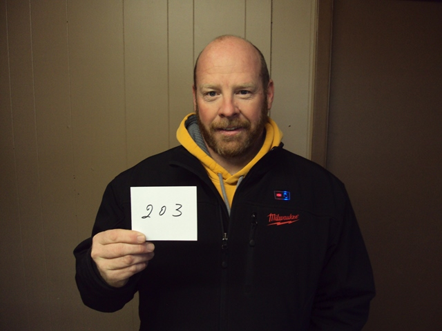 Chris Brown of Red Oak, IA drew the winning number this morning, the last drawing of the year, for those that did not win this year. Chris drew the name of Clay King of Phillip, SD. Clay wins $500.00.  CONGRATULATIONS CLAY!