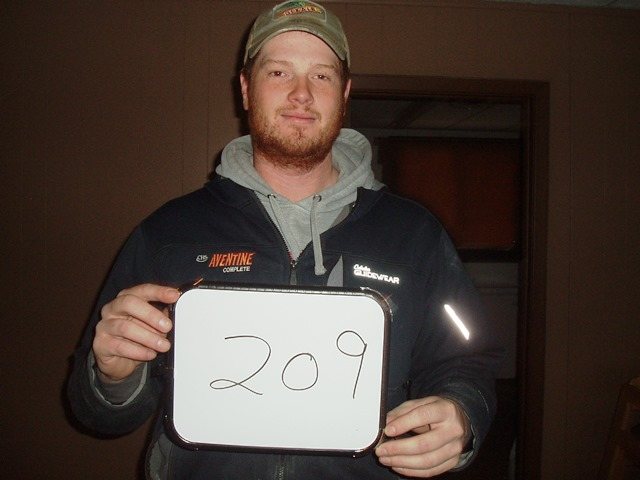 Levi Goetz of Selby, SD drew the winning number this Monday morning at the Akaska Bait Shop, Bar & Grill. Levi drew the number for Tim Roebuck of Mobridge, SD. Tim wins a Ruger 10/22 Rifle.  CONGRATULATIONS TIM.