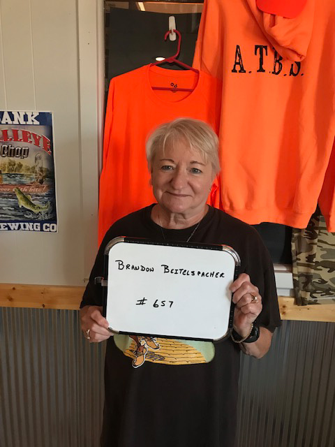 Jean Beckel of Akaska drew the winner of the weekly South Dakota Walleye Classic Festival Gun Drawing at the Akaksa Tavern and Bait Shop.    the winner is:    Brandon Beitelspacher     Brandon wins a:    Winchester SX4 12ga Shotgun    Craig Mehlhaff      President SDWCF