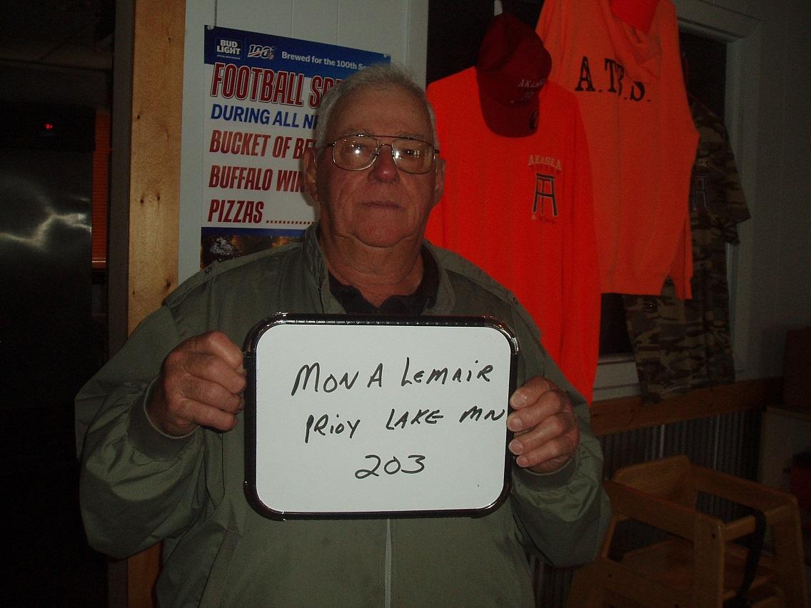 Hooch Schilling of Akaska drew the winner of the weekly South Dakota Walleye Classic Festival gun drawing.      The winner is:      Mona Lemair    Prior Lake MN      Mona wins a:    Henry Evil Boy    Rifle      Bill Waeckerle    SDWCF
