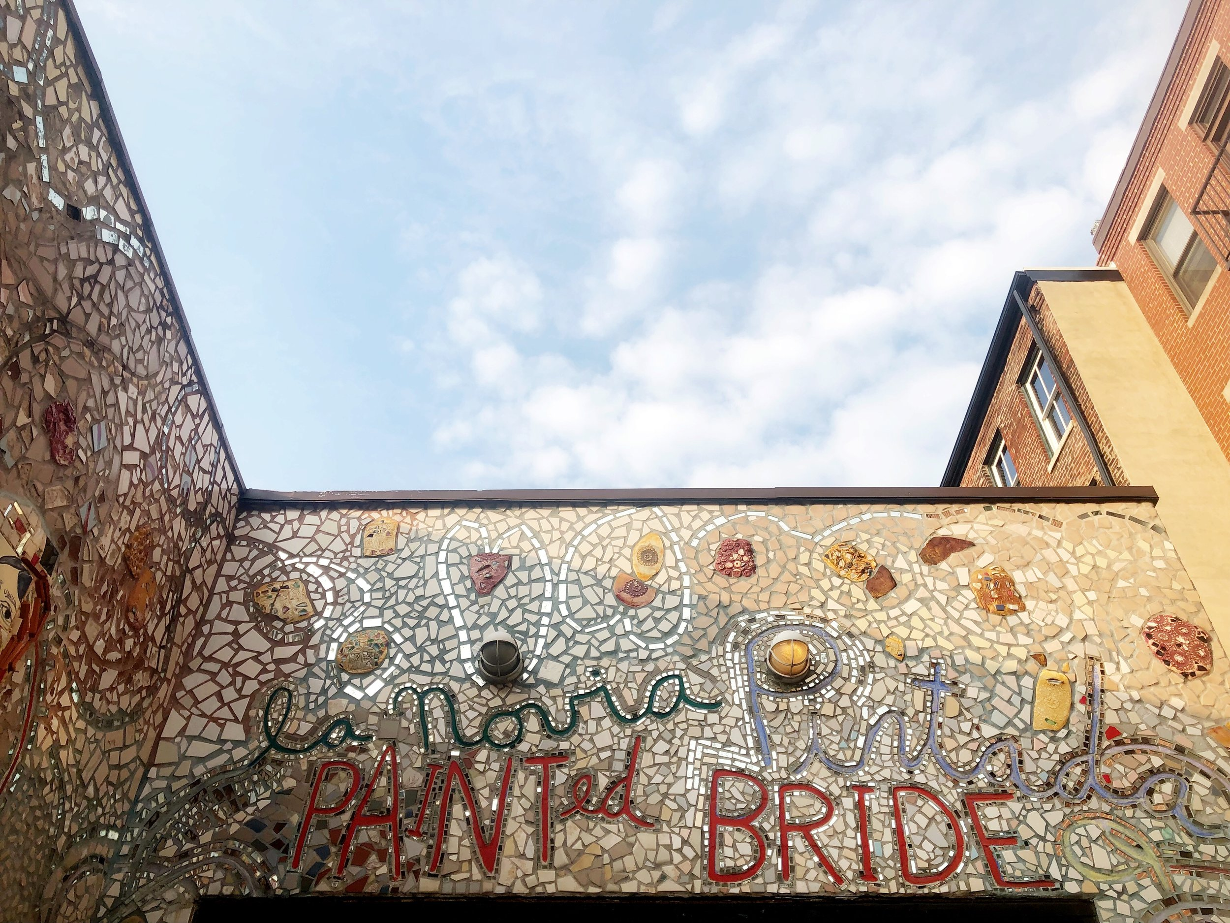 The Painted Bride by Isaiah Zagar, Philadelphia, PA --  Read about its past, present, and future