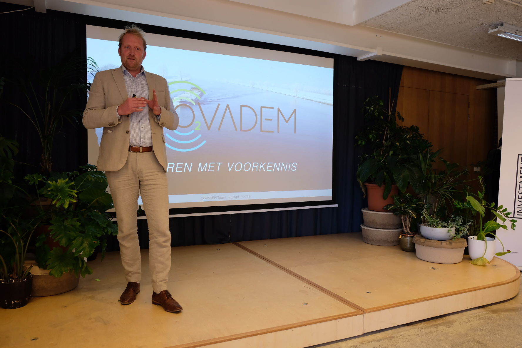 CoVadem pitch voor Investment Ready Program 2018