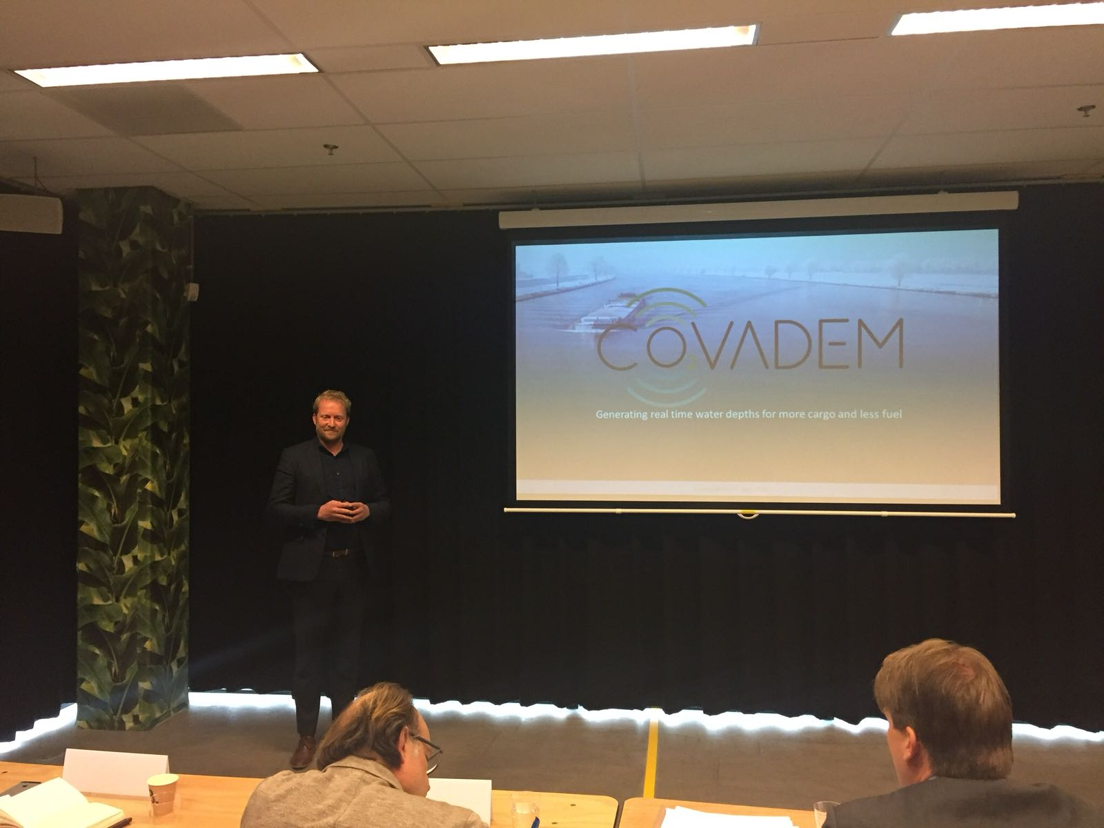 CoVadem pitch voor Climate KIC graduation day 2018