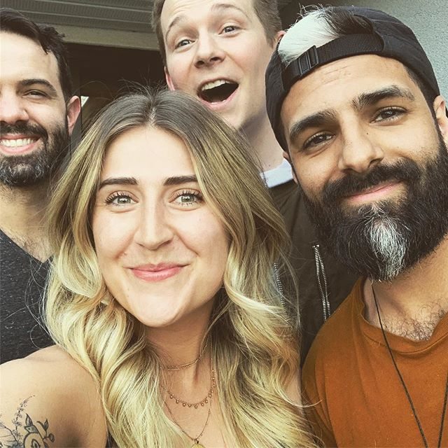 Old school players to new school fools 😎🤘🏼🔥 @lesliemosier @robchianelli @jasonderingmusic + that dope burrito joint right next to @theblackbirdstudio