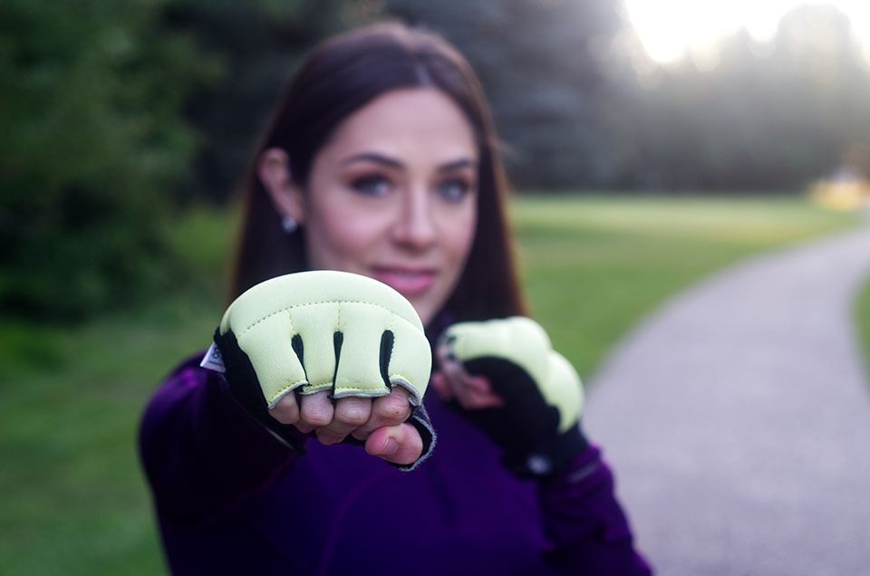 Try our new Renegade  Weighted Power Gloves for non-running activities