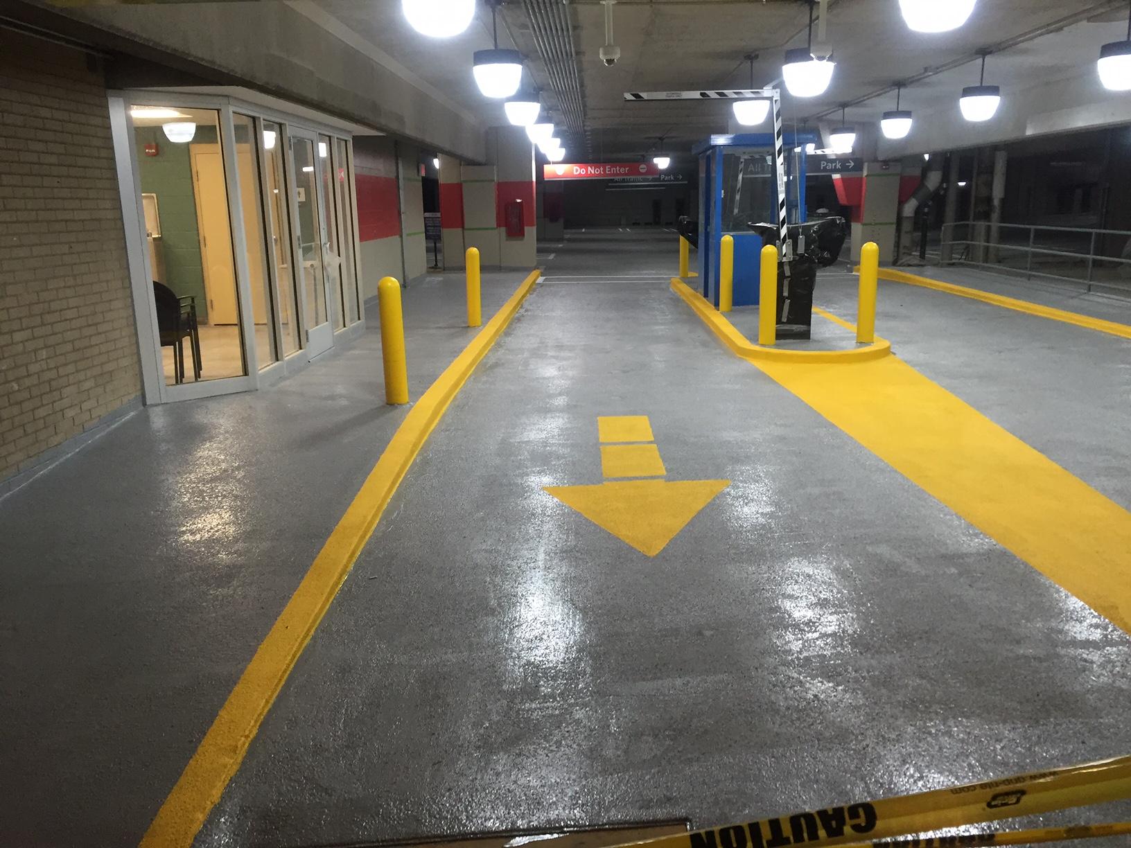 UPMC VICTORIA PARKING GARAGE STRUCTURAL RESTORATION