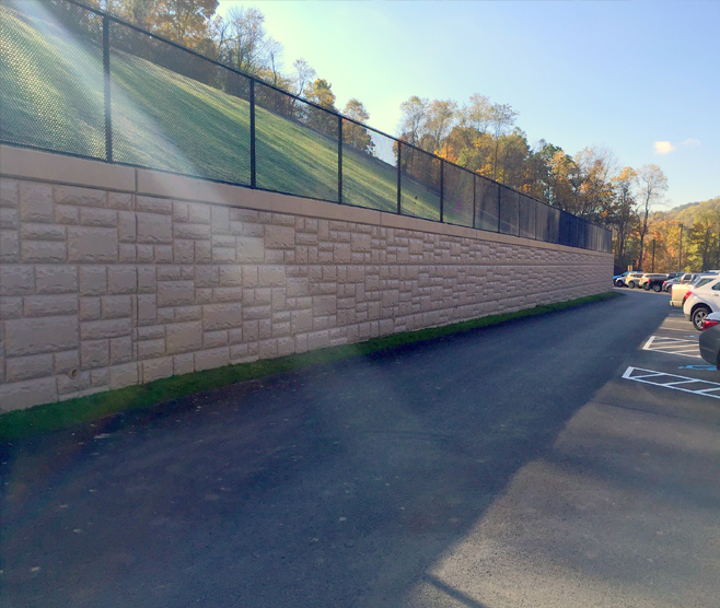 WEST GREENE SCHOOL DISTRICT WEST GREENE ELEMENTARY CENTER RETAINING WALL RECONSTRUCTION