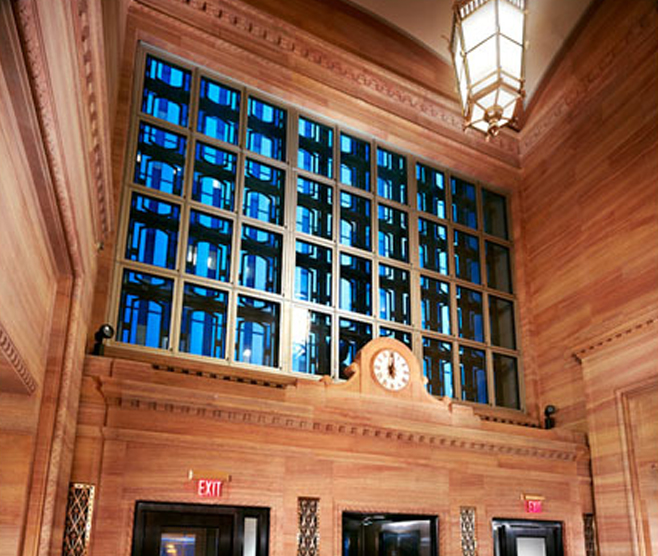 UNITED STATES POST OFFICE & FEDERAL COURTHOUSE RENOVATIONS OF NORTH PUBLIC LOBBY