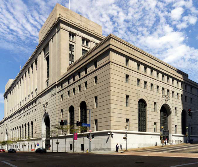 UNITED STATES POST OFFICE & FEDERAL COURTHOUSE 10th FLOOR CORRIDOR AND TOILET UPGRADES