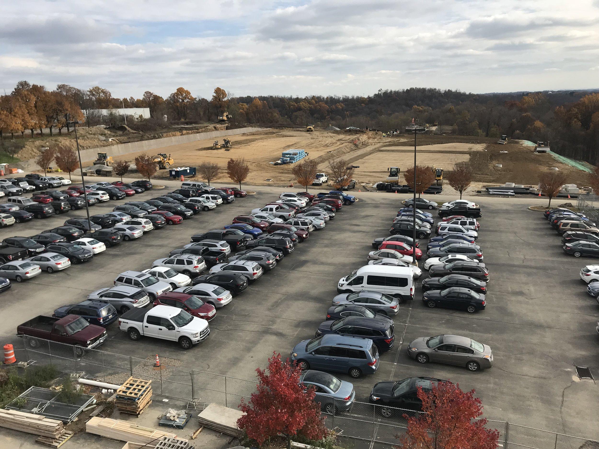 Parking Lot Progress.JPG