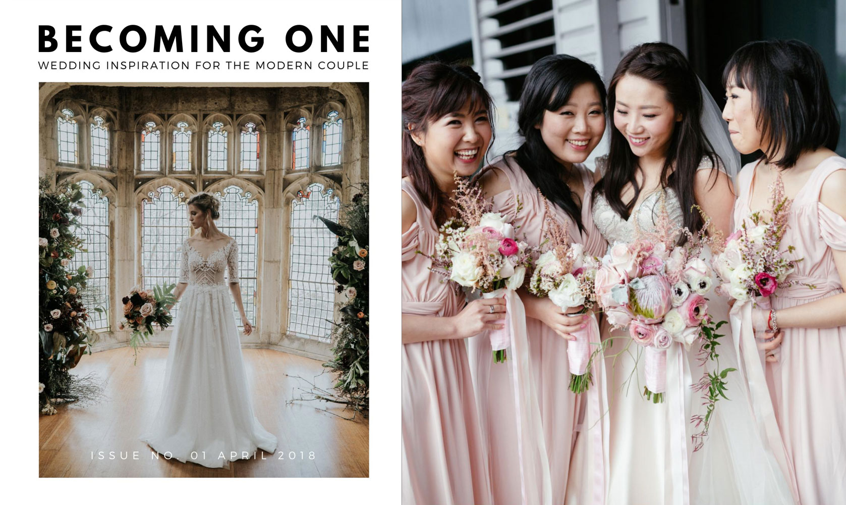 Becoming One Magazine - launch edition
