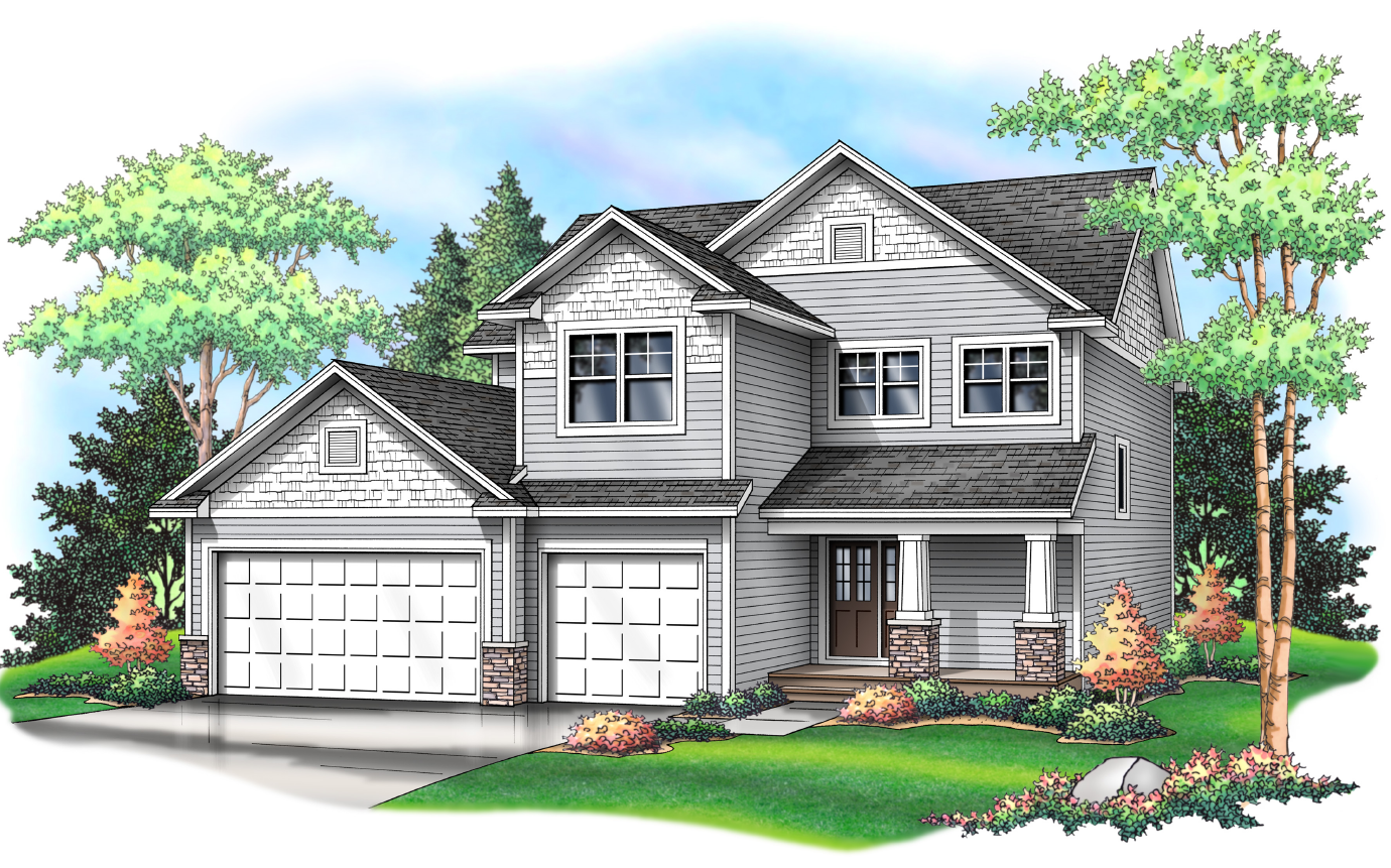 The Dublin Two Story Plan - Coming Soon!