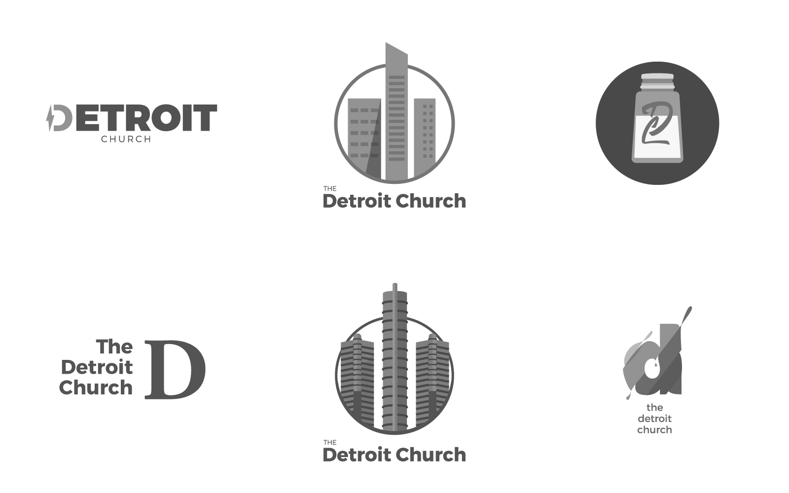 Exploring new marks to represent the church.