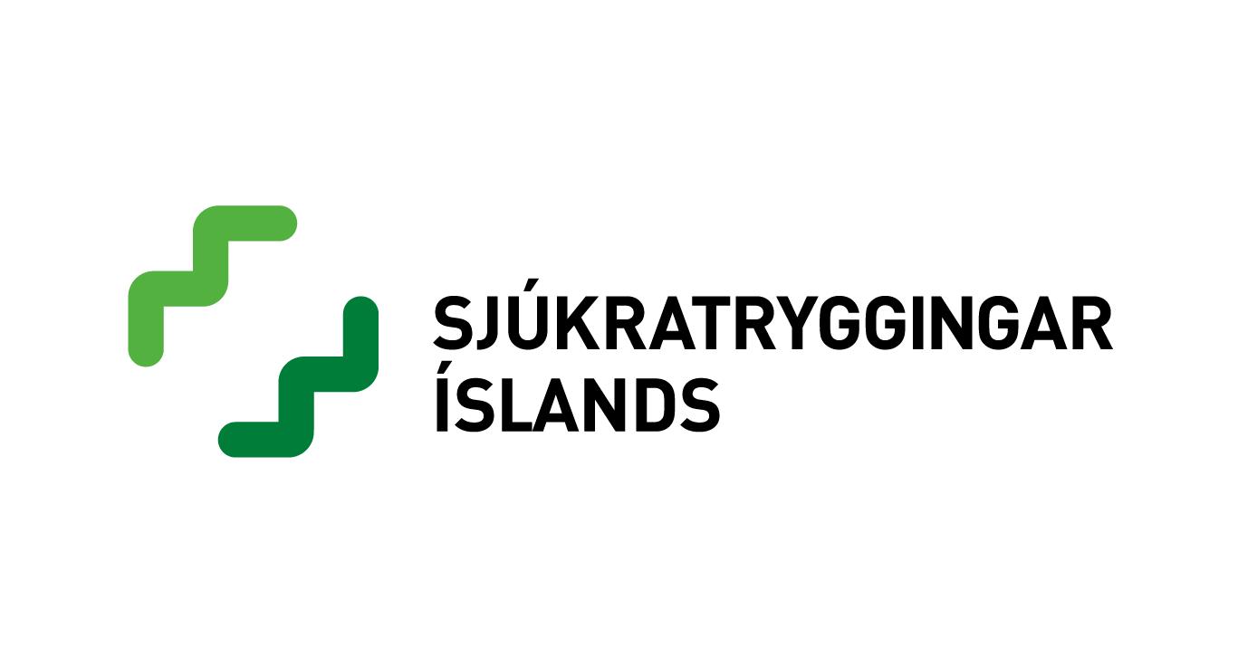 Tillaga mín að merki Sjúkratrygginga Íslands frá 2008.