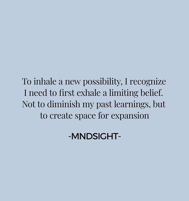 CHEERS. . . What might you let go of to create space for something new? . . #mndsightvibe