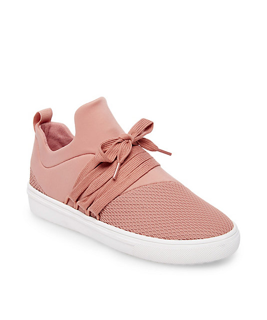 Pink Sneaks are so on trend and  these  from Steve Madden are less than $70!