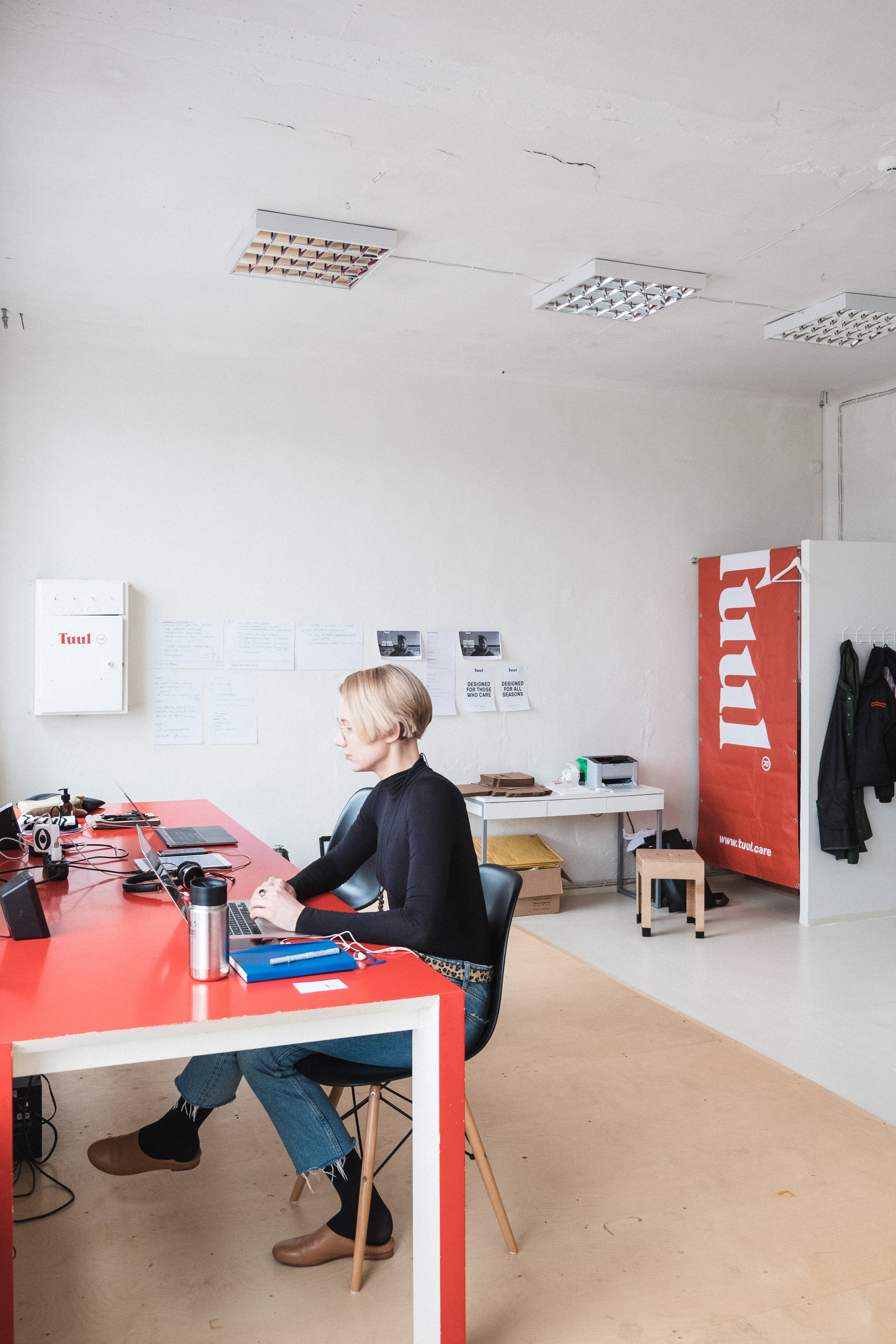 Our Office at Telliskivi Creative City / Tuul - Organic Skincare for Men