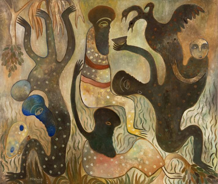 Manuel Mendive, Compartir (Share), 2009.