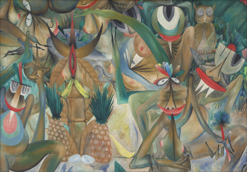 Manuel Couceiro,Untitled,1977.Oil on canvas,42 1/2 x 61 in.