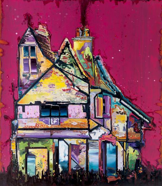Armando Mariño, Belfast, 2013. Oil on canvas, 92 x 80 in.