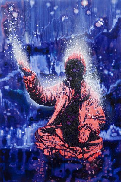 Armando Mariño, Shaman 2, 2011. Oil on canvas, 72 x 48 in.